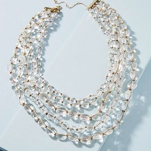 NWOT Anthropologie LUMI Layered Necklace